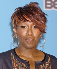 Missy Elliot Hairstyles, Flared Short Chic Haircut