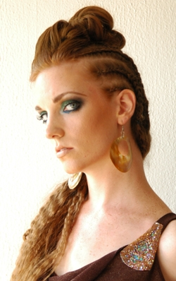 Cornrow Braids Hairstyle Picture
