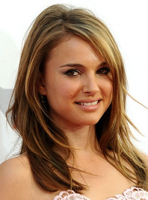 natalie-portman-medium-layered-straight